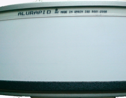 Taśma ALURAPID 140mm Srebrna 9006