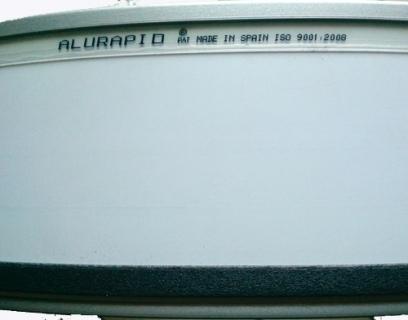 Taśma ALURAPID 112mm Srebrna 9006