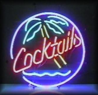 Neon Wewnętrzny- Logo Cocktails
