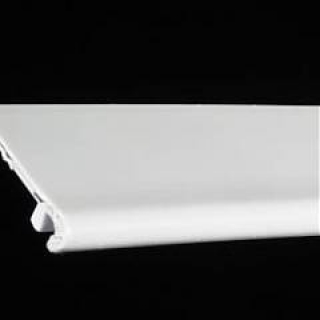 ELKAMET taśma na plexi 3mm Biały RAL 9016