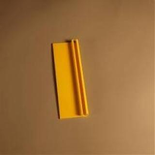 ELKAMET taśma na plexi 3mm żółta RAL1006