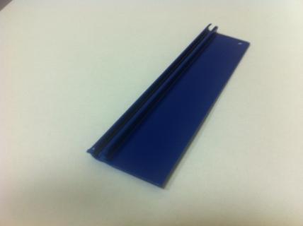 ELKAMET taśma na plexi 3mm niebieska RAL 5002