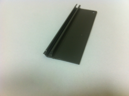 ELKAMET taśma na plexi 3mm szara RAL7043