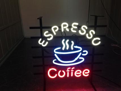 Neon Wewnętrzny- Logo Espresso