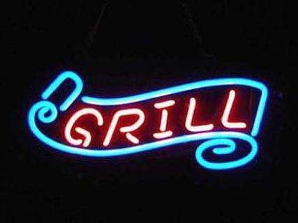 Neon Wewnętrzny- Logo Grill