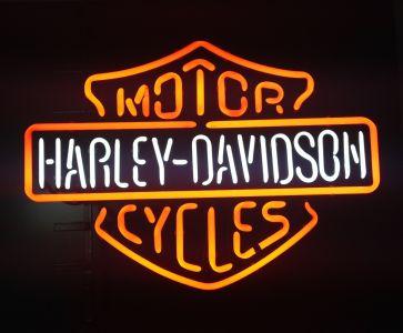 Neon Wewnętrzny- Logo Harley Davidson