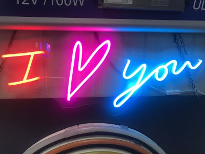 LED FLEX mini- I ♥ you