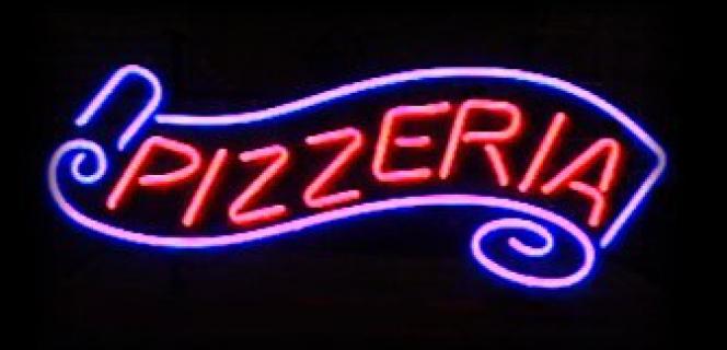 Neon Wewnętrzny- Logo Pizzeria