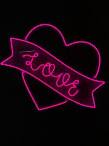 LED FLEX mini-Serce Love