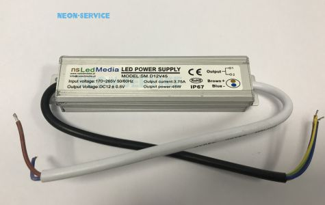 Zasilacz LED 12V 45W IP67